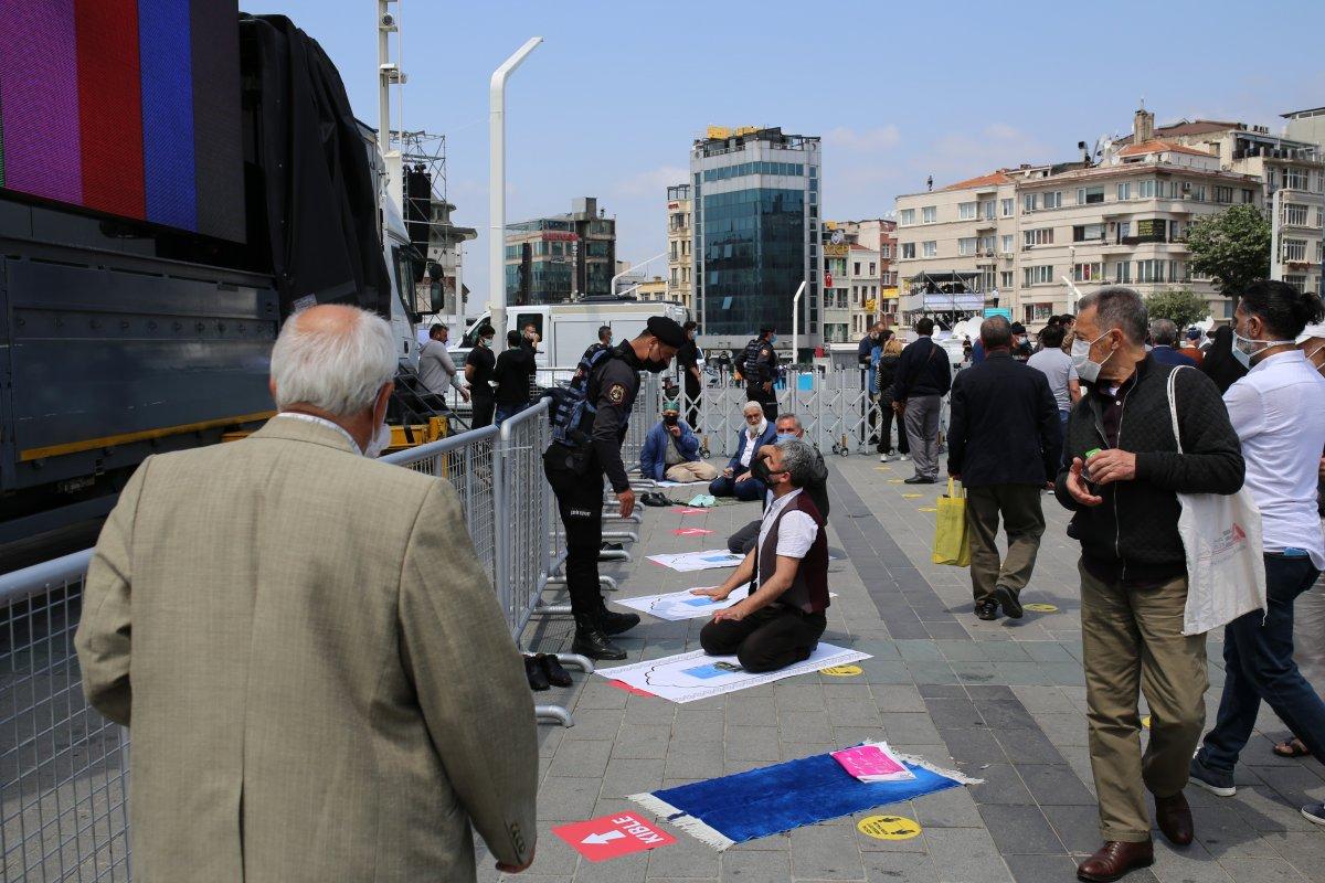 Taksim Camii nde açılış öncesi görüntüler #2