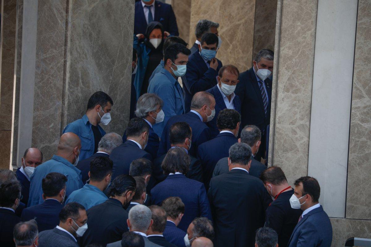 Taksim Camii ibadete açıldı #2