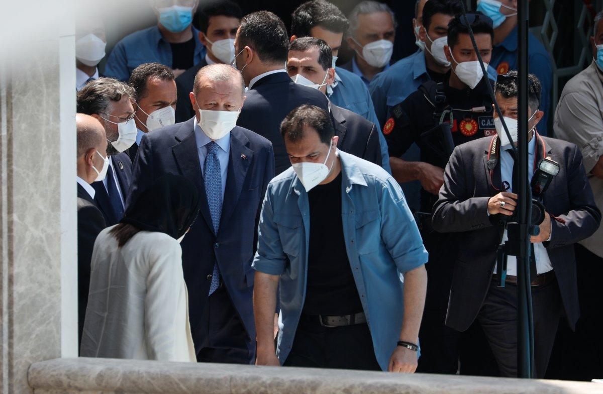 Taksim Camii ibadete açıldı #7