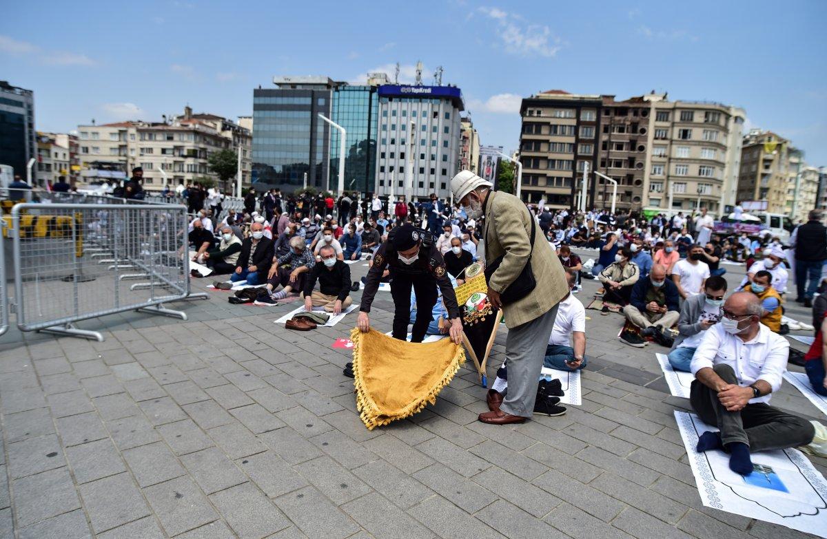 Taksim Camii nde açılış öncesi görüntüler #1