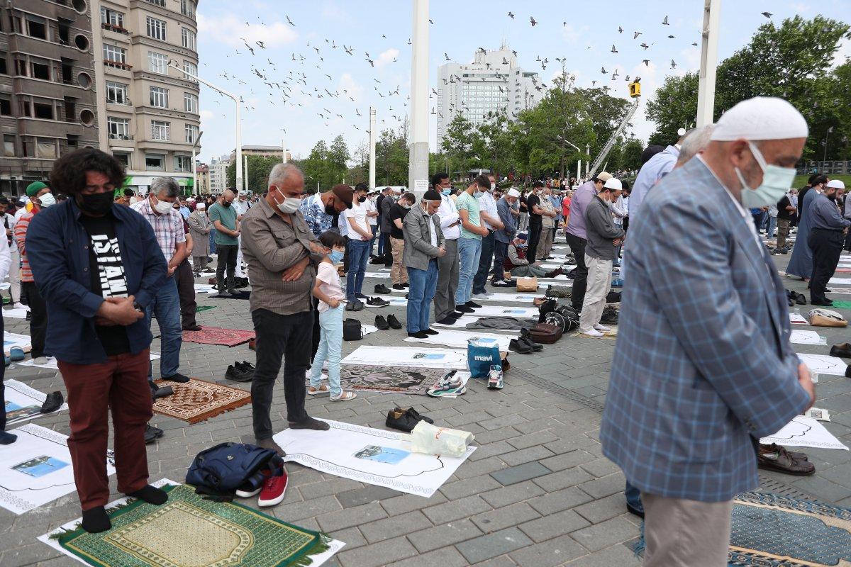 Taksim Camii ibadete açıldı #9