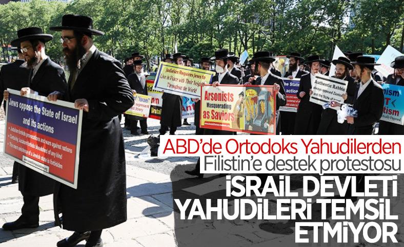 New York'ta yüzlerce Yahudi İsrail'i protesto etti