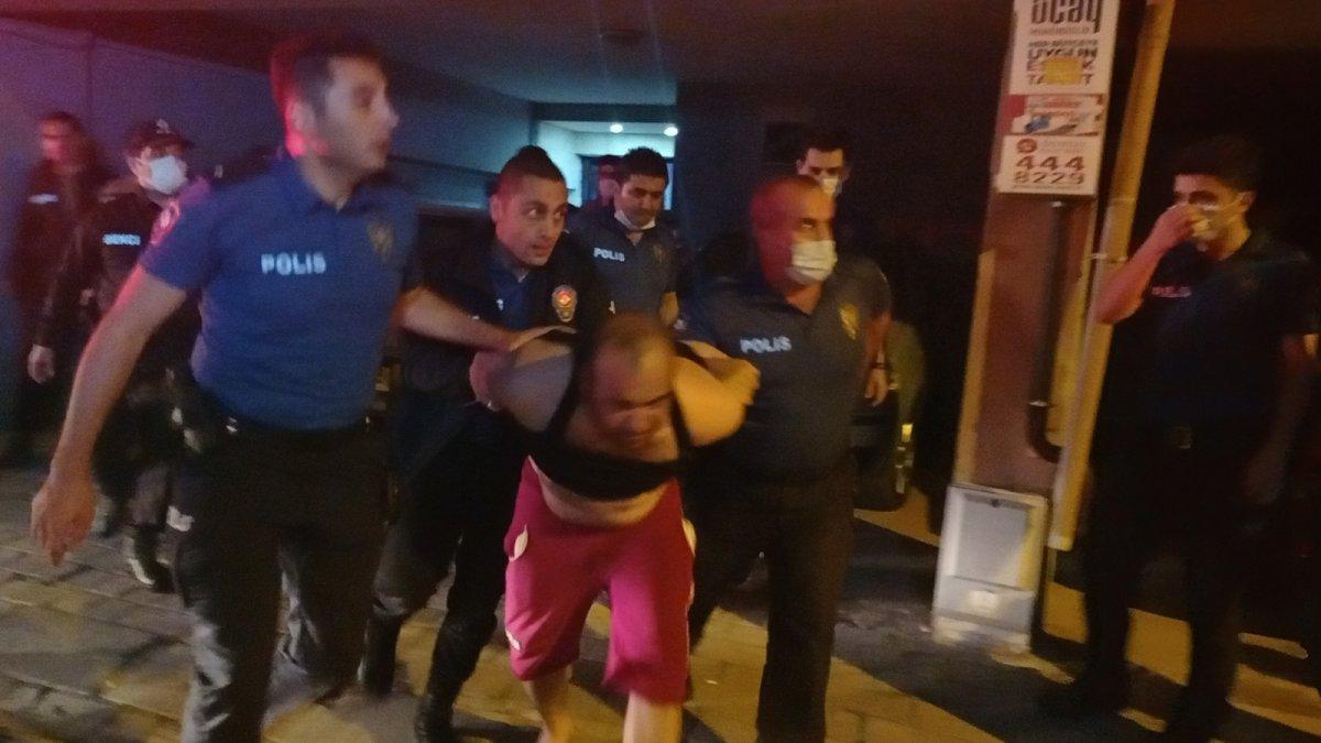 Aydın da evini tüple patlatmaya kalktı, polis alarma geçti #4