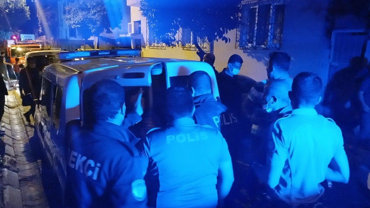 Aydın da evini tüple patlatmaya kalktı, polis alarma geçti #3