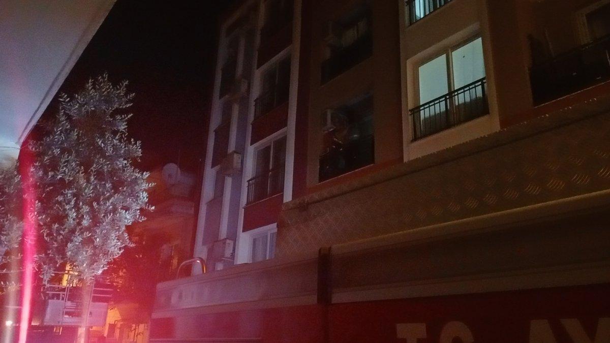 Aydın da evini tüple patlatmaya kalktı, polis alarma geçti #2