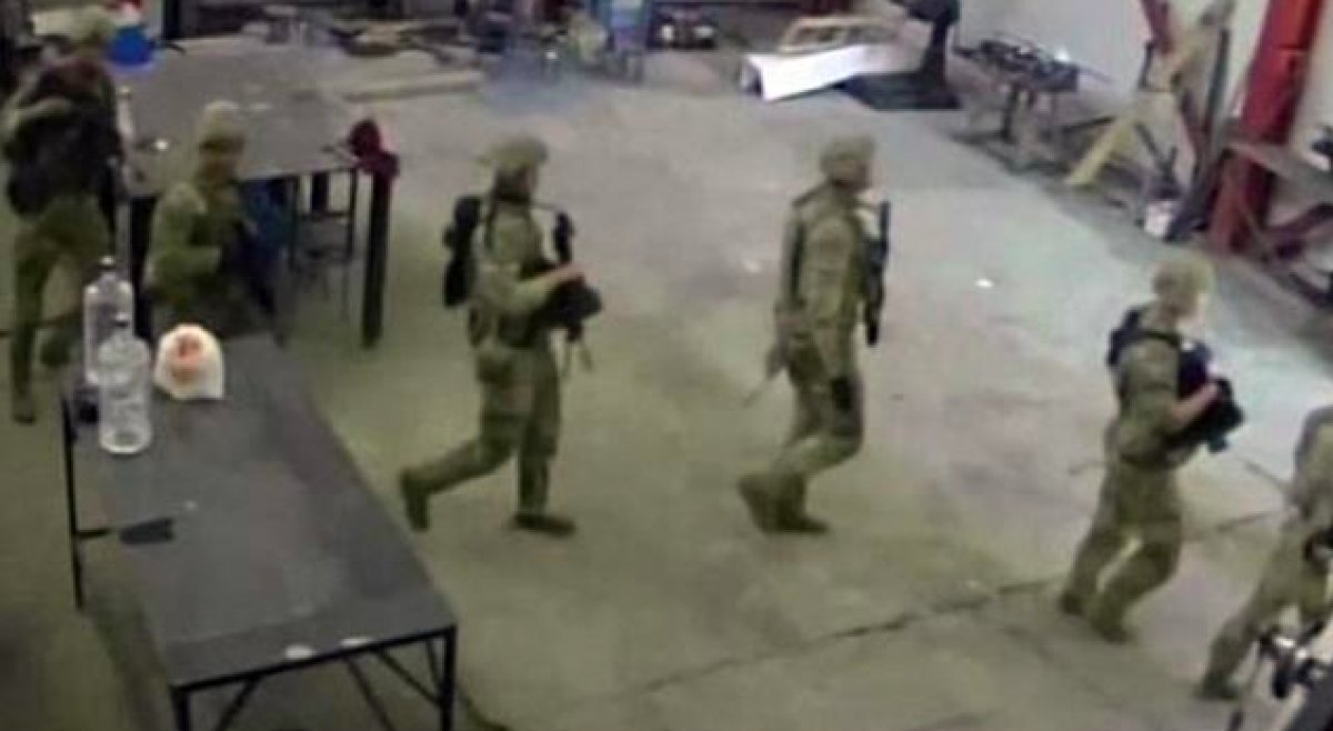 ABD askerleri Bulgaristan da yanlış fabrikayı bastı #2