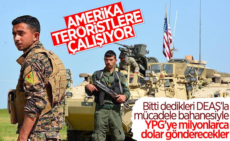 Pentagon, PKK'nın dahil olduğu program için 522 milyon dolar talep etti