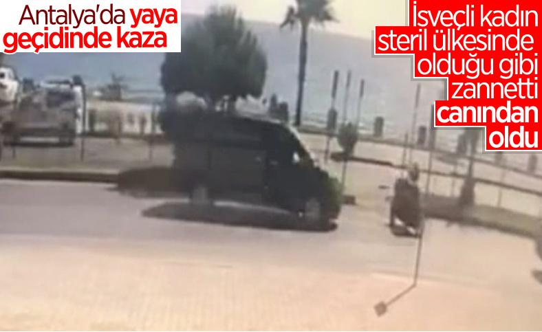 Antalya'daki İsveçli kadın, kaza sonucu vefat etti