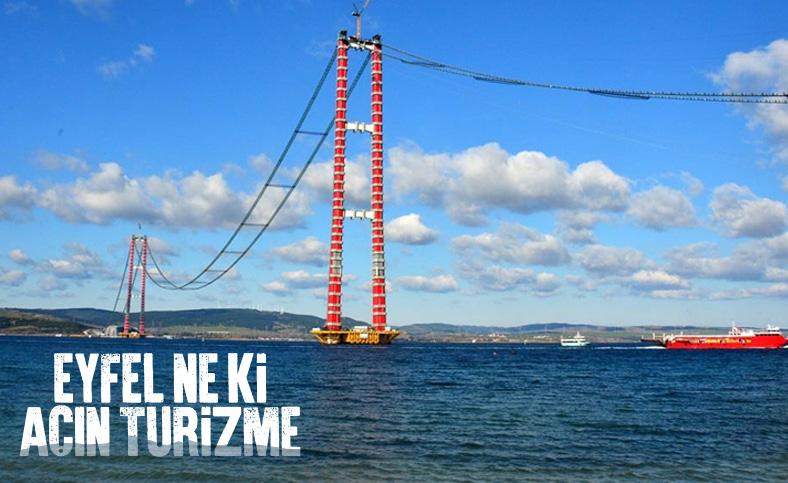 Bülent Turan: 1915 Çanakkale Köprüsünü turizme açalım