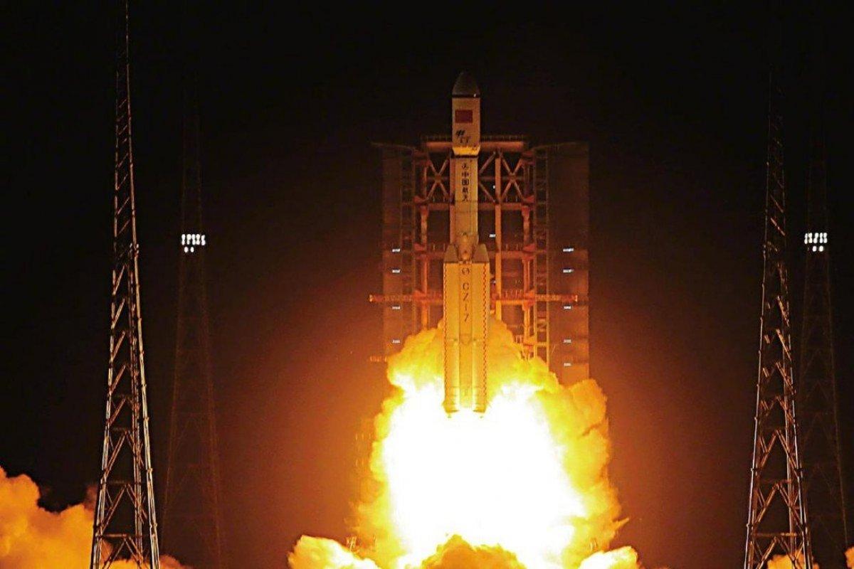 Çin, kargo ikmal uzay aracını başarıyla uzaya fırlattı #1