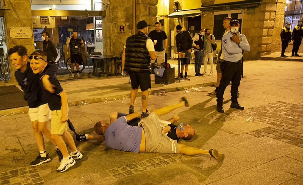 Portekiz de Şampiyonlar Ligi finali öncesi sokaklar kana bulandı #2