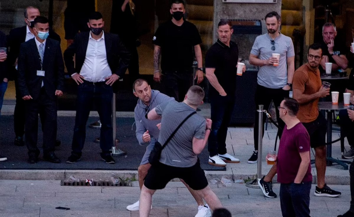 Portekiz de Şampiyonlar Ligi finali öncesi sokaklar kana bulandı #3