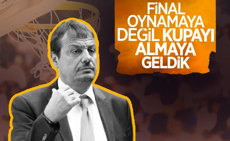 Ergin Ataman: Gergin ve kararlıyız