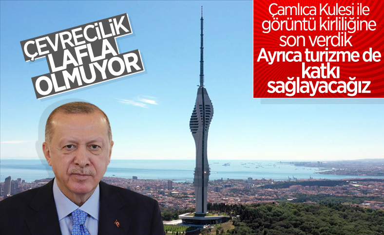 Cumhurbaşkanı Erdoğan'ın Çamlıca Kulesi açılış töreni konuşması