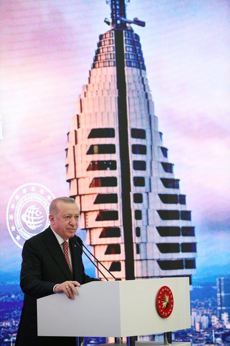 Cumhurbaşkanı Erdoğan ın Çamlıca Kulesi açılış töreni konuşması #5