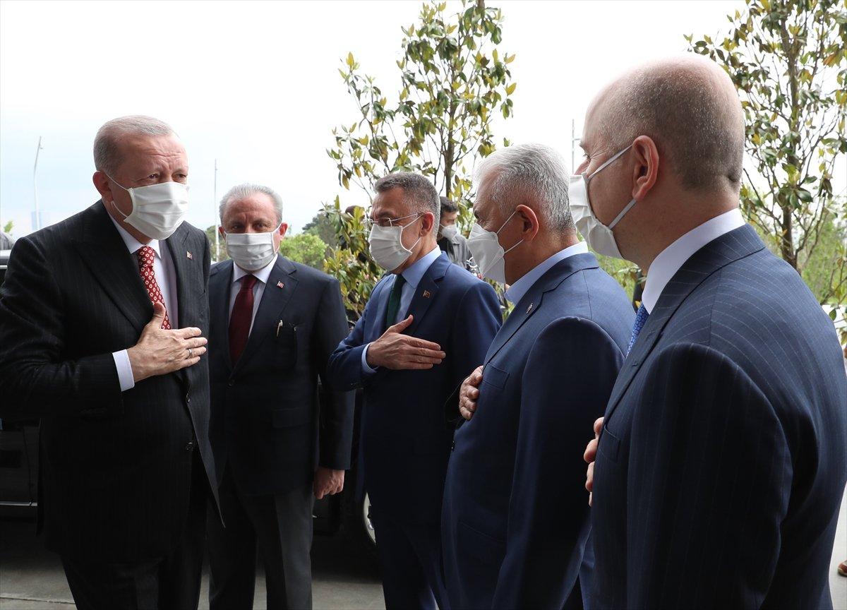 Cumhurbaşkanı Erdoğan ın Çamlıca Kulesi açılış töreni konuşması #4