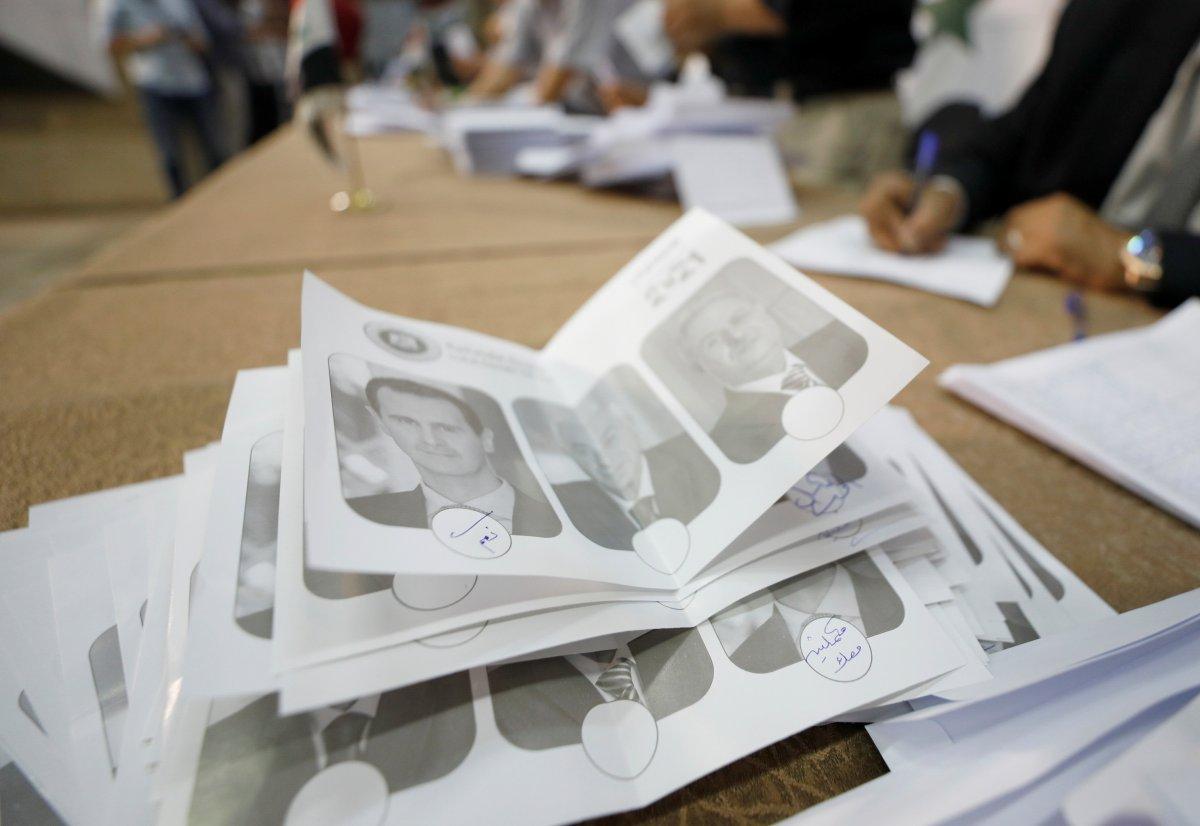 Suriye de Esad rejimine 4 milyon fazladan oy çıktı #2