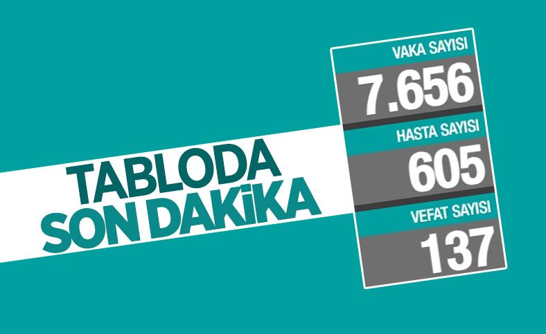 29 Mayıs Türkiye'nin koronavirüs tablosu
