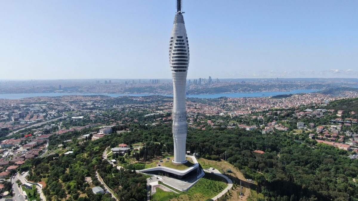 Avrupa nın en yükseği: Çamlıca Kulesi kaç metre, özellikleri neler? #2