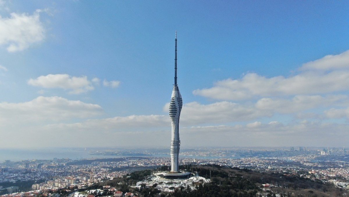 Avrupa nın en yükseği: Çamlıca Kulesi kaç metre, özellikleri neler? #4
