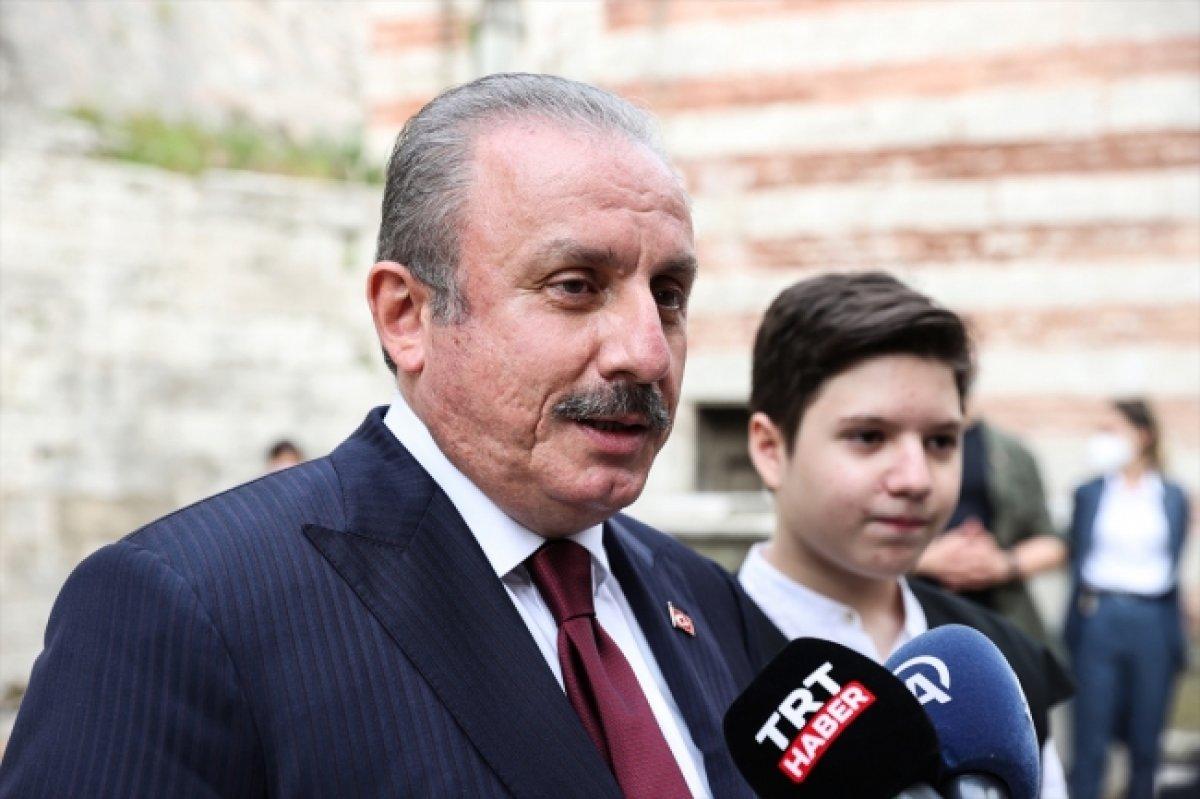 Mustafa Şentop'un oğlu Ömer Asım, hafızlık eğitimini tamamladı #2