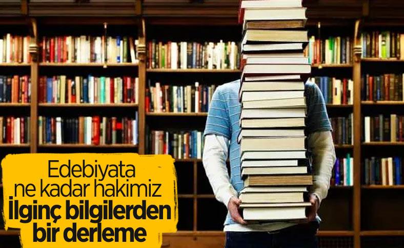 Okuyunca şaşıracağınız edebiyata ve kitaplara dair ilginç bilgiler