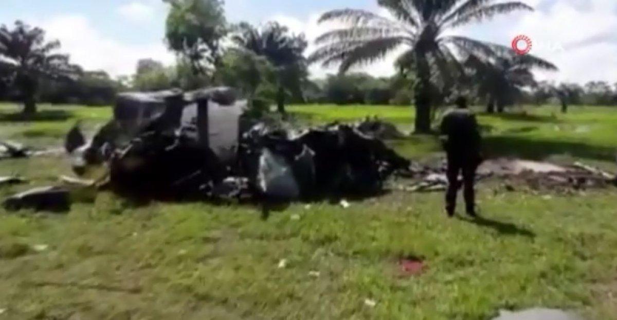 Kolombiya'da polis helikopteri düştü: 5 ölü #1