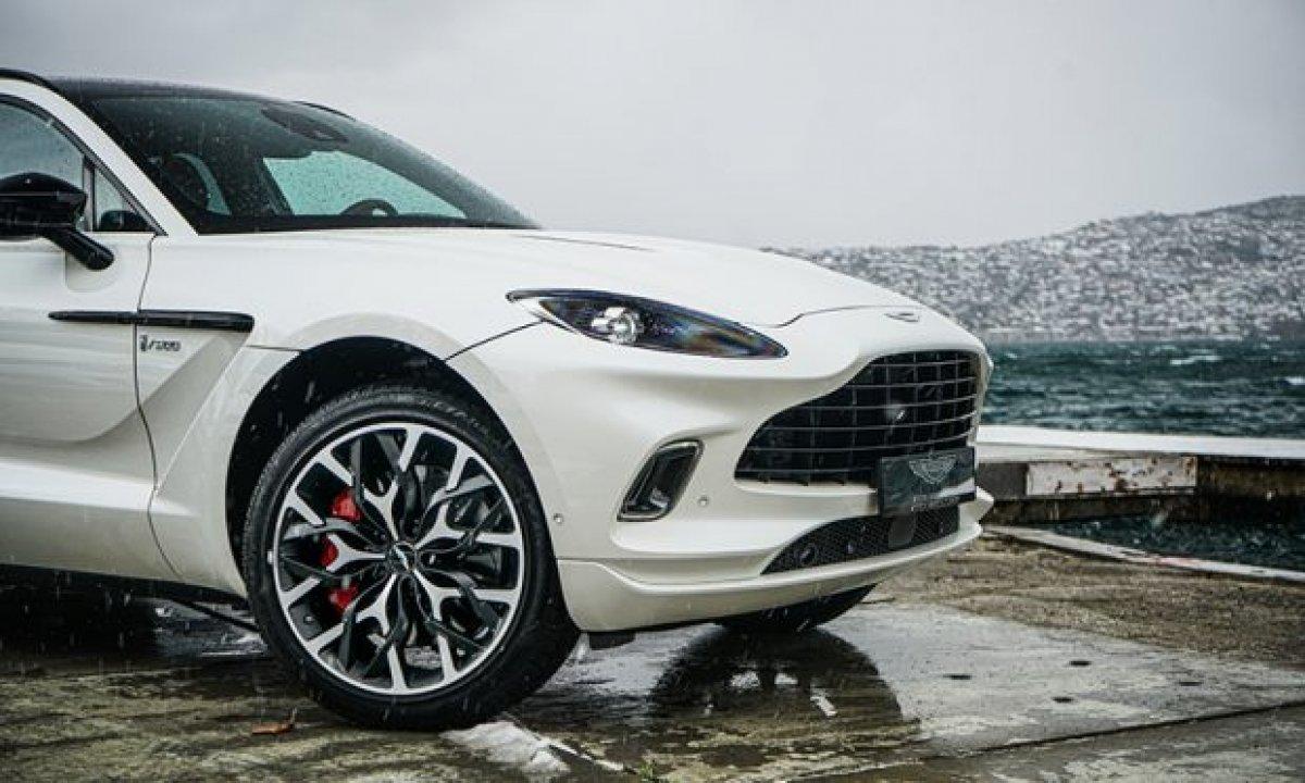 Aston Martin'in ilk SUV'u DBX, yeni renkleriyle de büyüleyecek #3