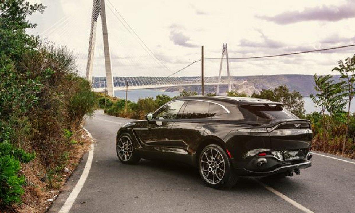 Aston Martin'in ilk SUV'u DBX, yeni renkleriyle de büyüleyecek #8