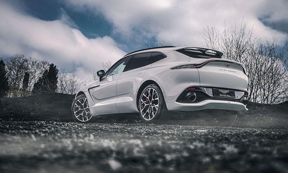 Aston Martin'in ilk SUV'u DBX, yeni renkleriyle de büyüleyecek #2