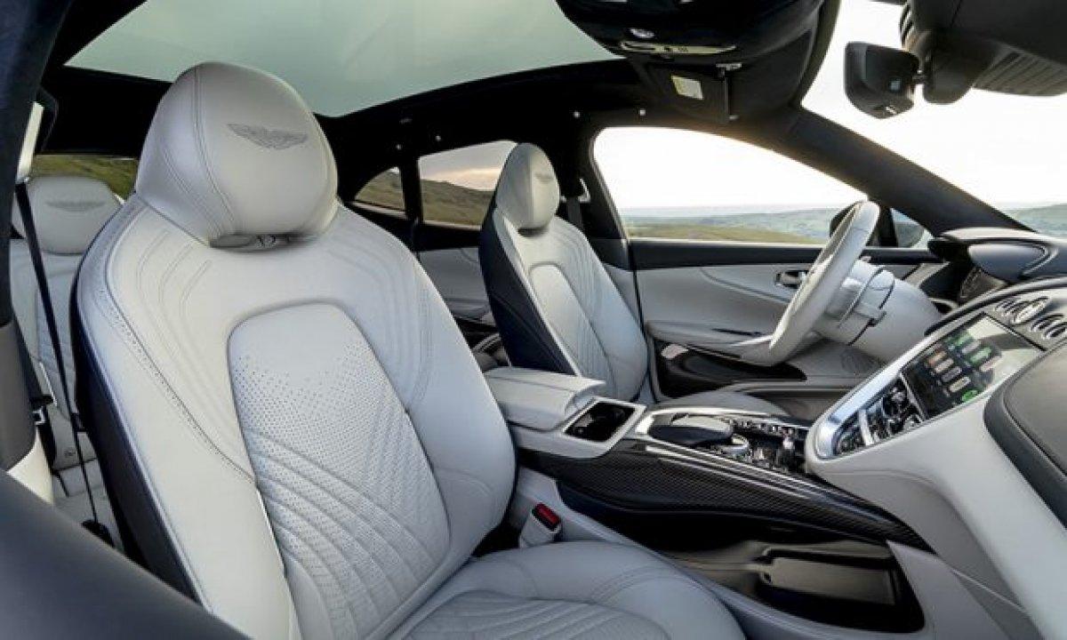 Aston Martin'in ilk SUV'u DBX, yeni renkleriyle de büyüleyecek #7