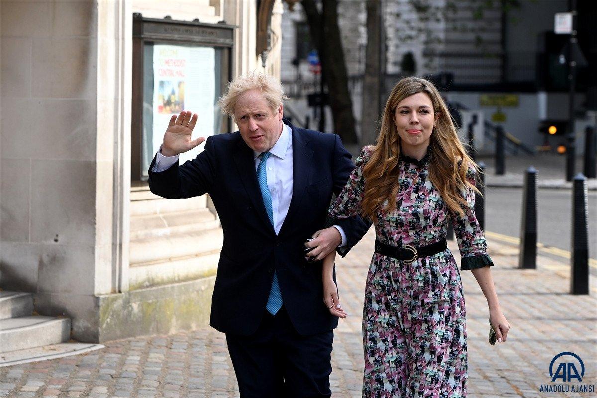 Boris Johnson gizli törenle yeniden evlendi #1
