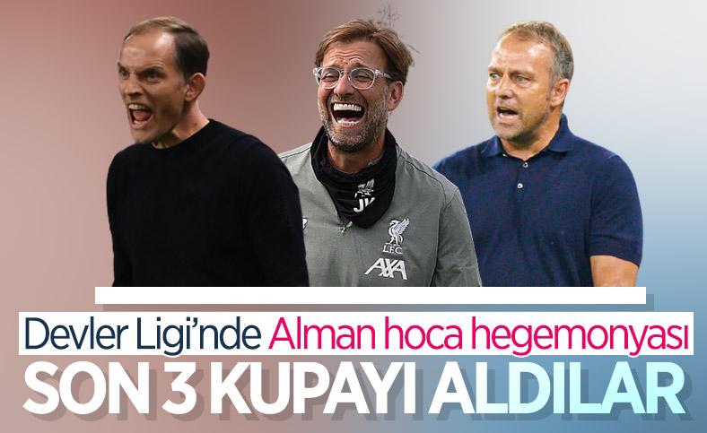 Şampiyonlar Ligi'nde son 3 kupayı Alman hocalar kazandı