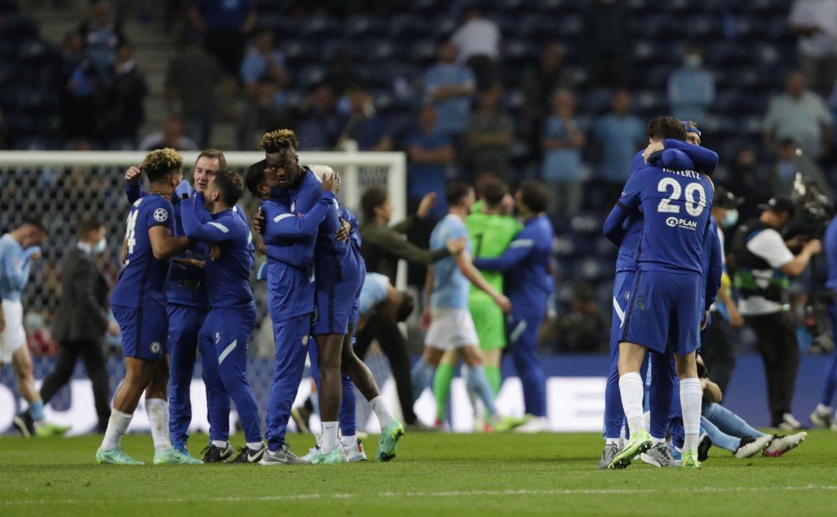 Şampiyonlar Ligi şampiyonu Chelsea #4