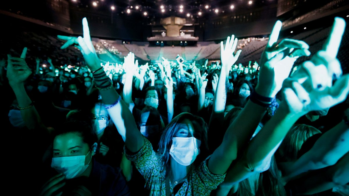 Paris te 5 bin kişilik konser deneyi #5