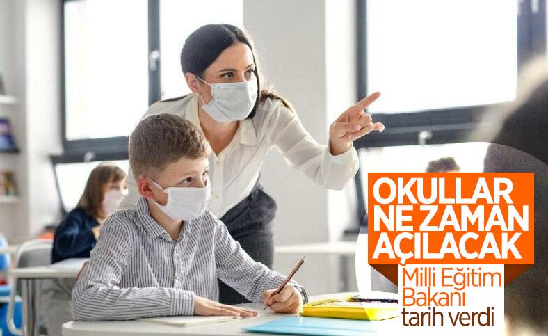 Milli Eğitim Bakanı Ziya Selçuk, okulların açılacağı tarihi açıkladı