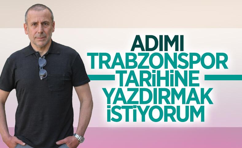 Abdullah Avcı: Adımı kulübün tarihine yazdırmak istiyorum