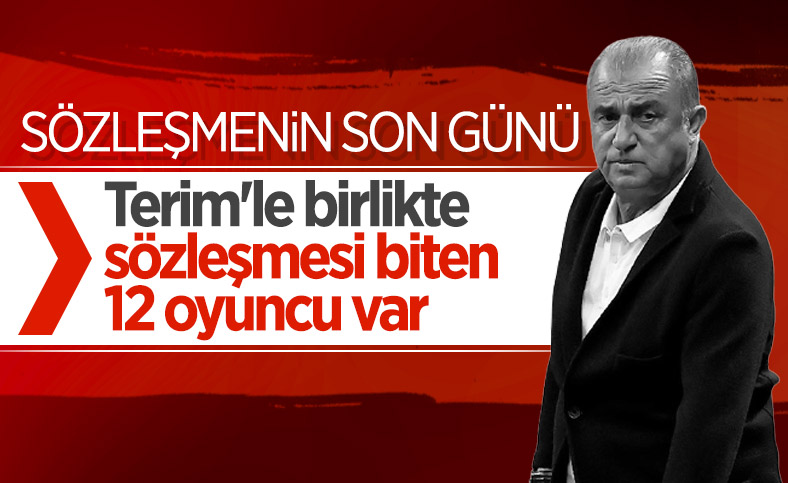 Galatasaray'da Fatih Terim'in sözleşmesi sona eriyor
