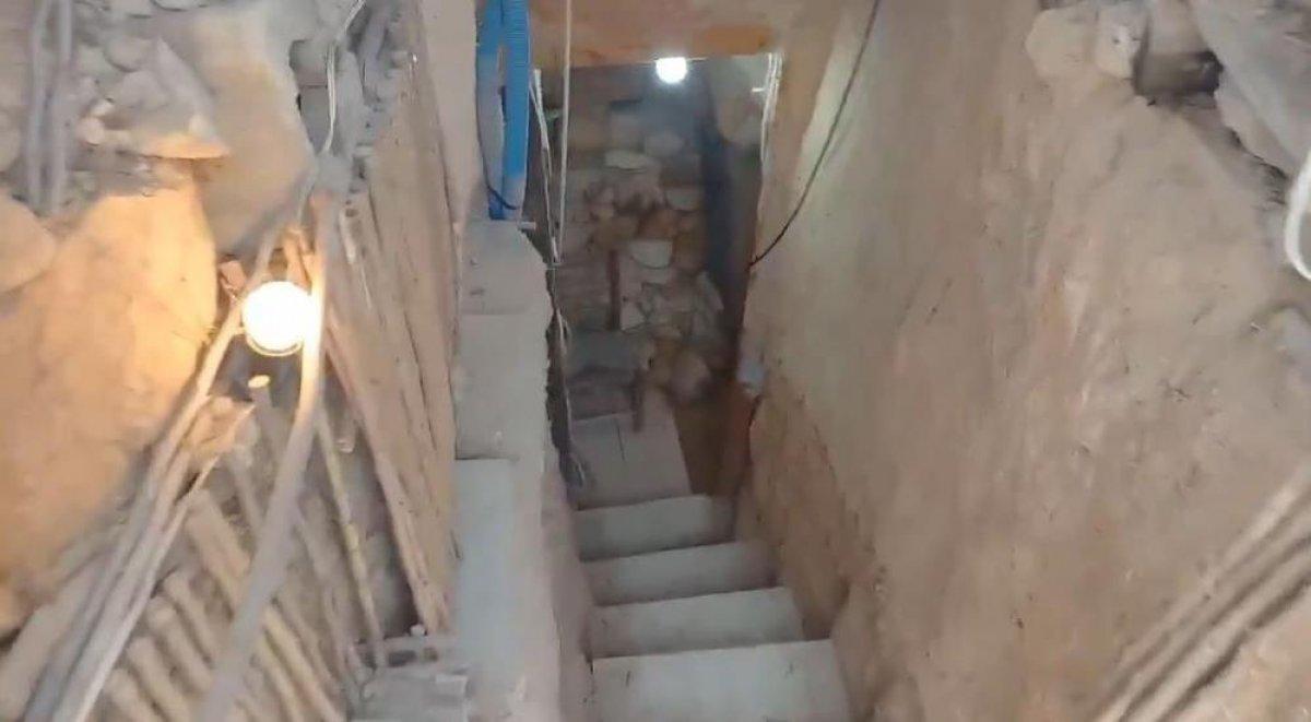 İspanya da ailesine kızan genç, yer altında ev inşa etti  #2
