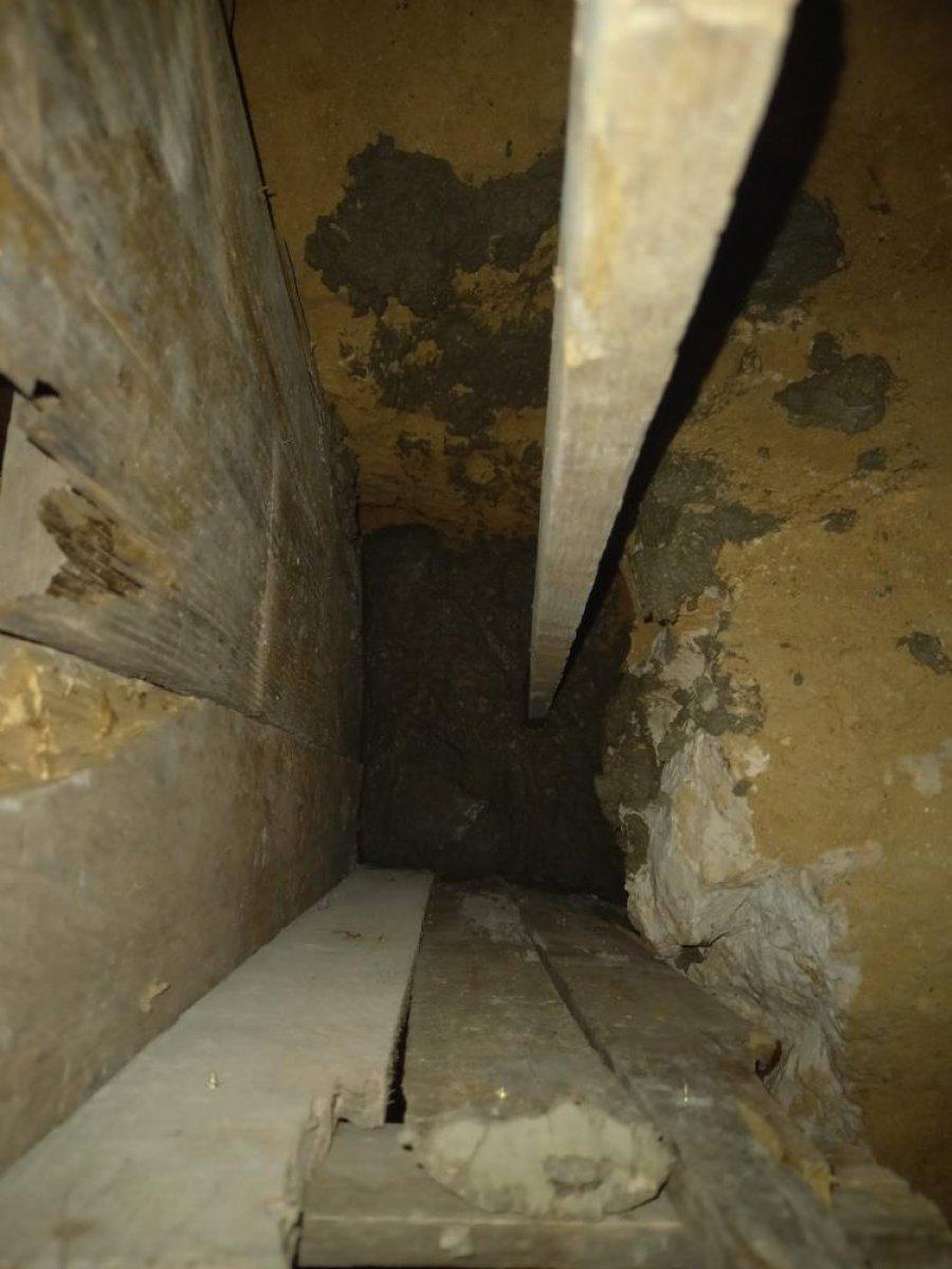 İspanya da ailesine kızan genç, yer altında ev inşa etti  #13