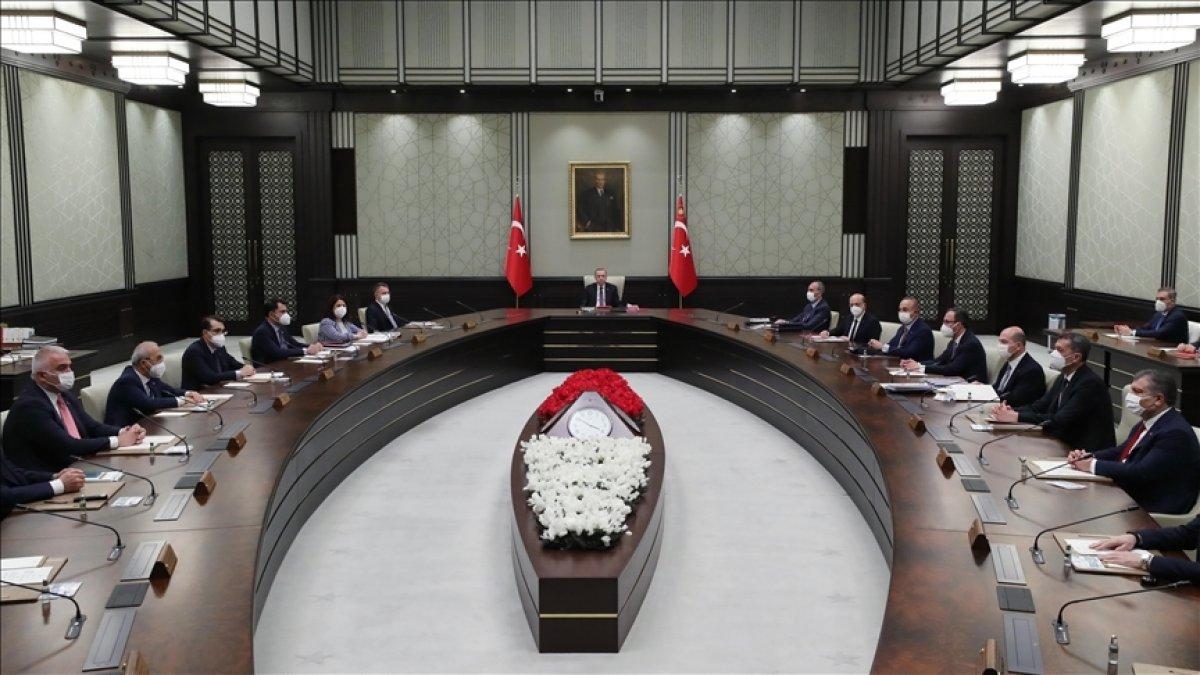 Cumhurbaşkanlığı Kabinesi Cumhurbaşkanı Erdoğan başkanlığında toplandı #1