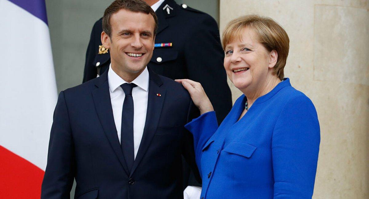 Angela Merkel ile Emmanuel Macron dan casusluk açıklaması #1