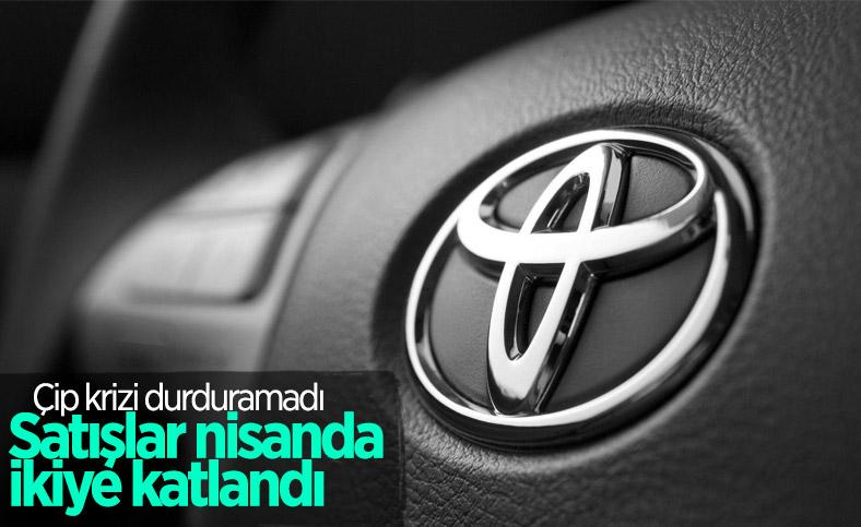 Toyota, nisan ayında satışlarını ikiye katladı