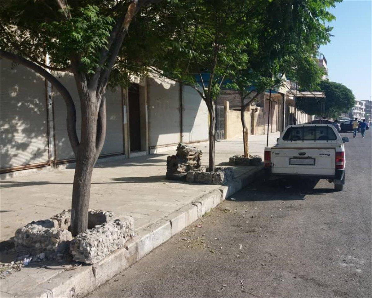 Terör örgütü PKK dan Münbiç te sokağa çıkma yasağı #2