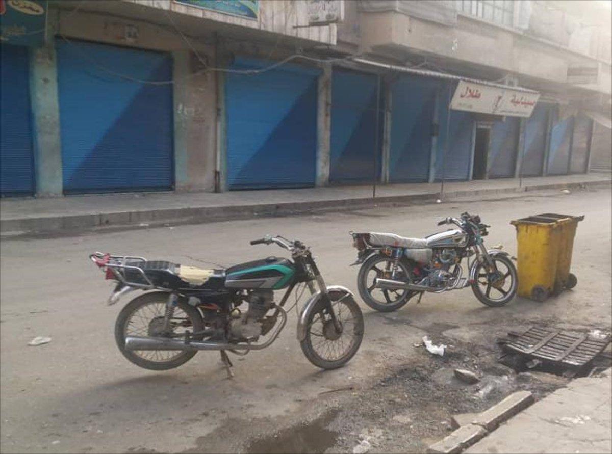 Terör örgütü PKK dan Münbiç te sokağa çıkma yasağı #3