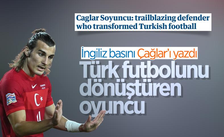 The Guardian: Türk futbolunu dönüştüren oyuncu Çağlar