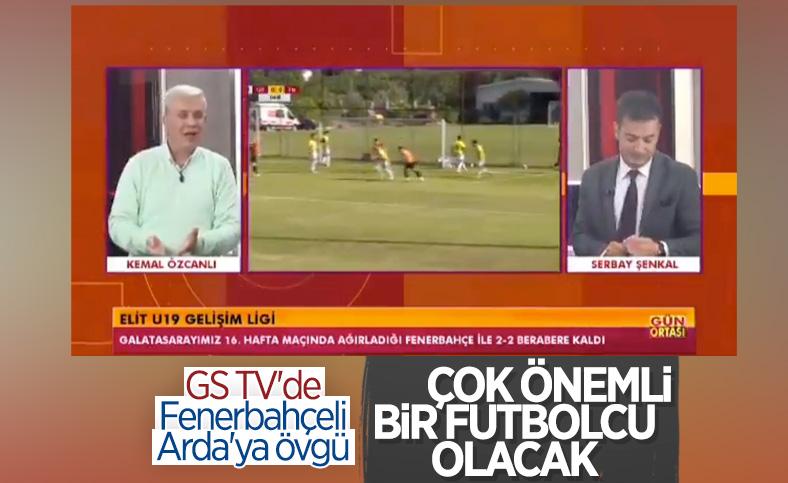 GS TV'de Fenerbahçeli Arda Güler'e övgü