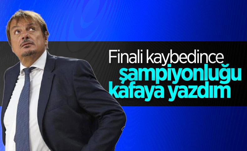 Ergin Ataman: Finali kaybettiğimizde şampiyonluğu kafamıza yazdık