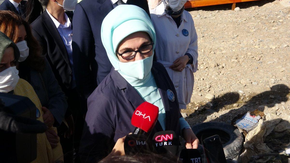 Emine Erdoğan ve Murat Kurum'un Van ziyareti #2