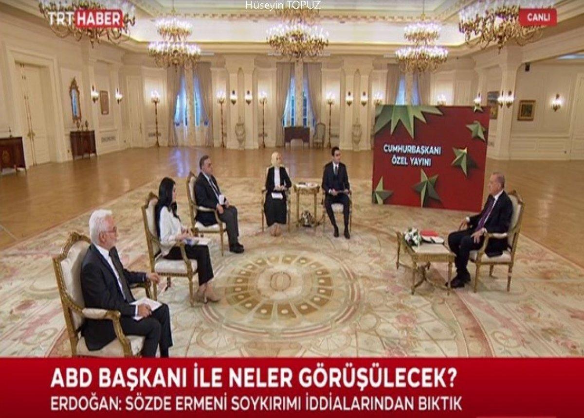Cumhurbaşkanı Erdoğan dan canlı yayında açıklamalar #2